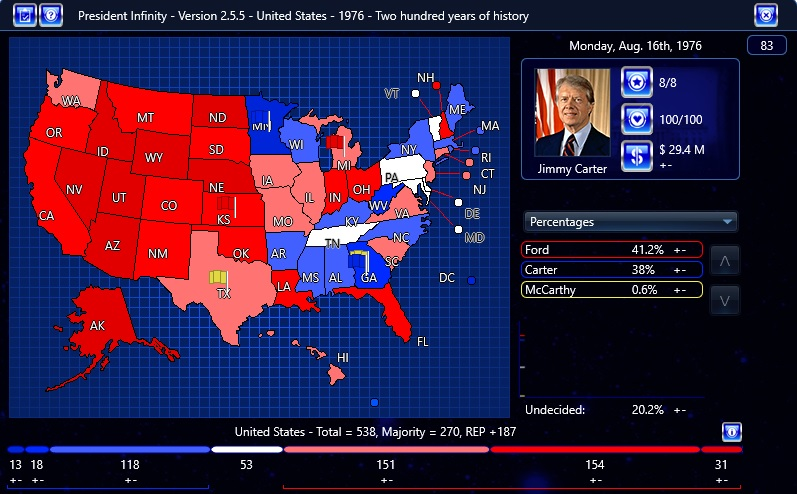 The Game Includes The Historical Primary Challengers Including Ronald Reagan Additionally We Have Included Several What If Candidates Most Notably Ted